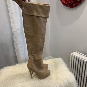 Charlotte Russe the Chantal knee high boots size 6